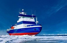 Nga chuẩn bị thử nghiệm tàu phá băng nguyên tử lớn nhất thế giới
