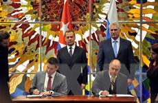 Cuba và Nga ký tám thỏa thuận tăng cường hợp tác song phương