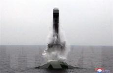 Triều Tiên gọi tên lửa phóng từ tàu ngầm là ''bom hẹn giờ'' với kẻ thù