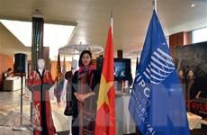 Triển lãm tơ lụa, thổ cẩm Việt Nam trong khuôn khổ kỳ họp thứ 59 WIPO