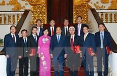 Thủ tướng tiếp các Đại sứ, Trưởng cơ quan đại diện VN tại nước ngoài