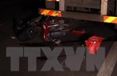 Bình Phước: Tông vào đuôi xe container, nam thanh niên tử vong