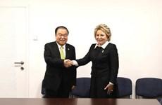 Hàn Quốc yêu cầu Nga thúc đẩy phi hạt nhân hóa Bán đảo Triều Tiên
