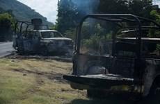 Mexico: Bị phục kích bên đường, ít nhất 14 cảnh sát thiệt mạng