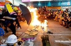 Hong Kong cấm người biểu tình quấy rối nhà ở của cảnh sát