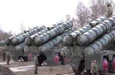 Nga có thể sớm hoàn tất chuyển giao tên lửa S-400 cho Thổ Nhĩ Kỳ