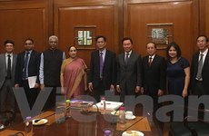 Đoàn đại biểu Đảng Cộng sản Việt Nam thăm và làm việc tại Ấn Độ