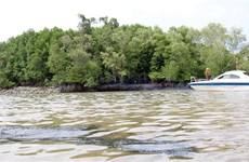 Vụ chìm tàu trên sông Lòng Tàu: Thu gom được khoảng 30m3 dầu lẫn nước