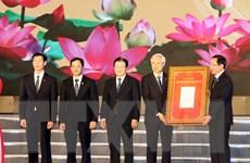 Lễ công bố quyết định công nhận thành phố Hải Dương là đô thị loại 1