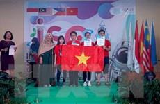 Đoàn học sinh Việt Nam giành 4 HCV tại kỳ thi Khoa học Quốc tế 2019
