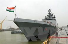 Tàu Hải quân Ấn Độ INS SAHYADRI thăm thành phố Đà Nẵng
