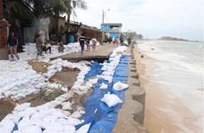 Bão gây thiệt hại 400 tỷ đồng vừa tan, Bình Định lại sắp đón mưa lũ