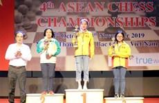 Việt Nam giành 14 huy chương tại Giải vô địch cờ vua Đông Nam Á