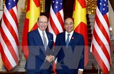 Quan hệ kinh tế và đầu tư Việt Nam-Hoa Kỳ đang phát triển mạnh mẽ