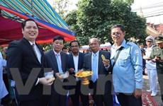 Tổng lãnh sự quán VN tại Preah Sihanouk mừng Quốc khánh Campuchia