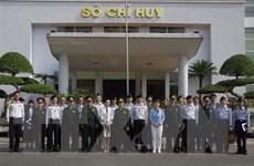 Đoàn sỹ quan Bộ Quốc phòng Nhật Bản thăm Bộ đội biên phòng Lào Cai