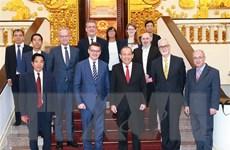 Phó Thủ tướng Trương Hòa Bình tiếp Chủ tịch Nghị viện bang Hessen