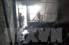 Cà Mau: Điều tra vụ cháy cửa hàng Viettel ở thị trấn Đầm Dơi
