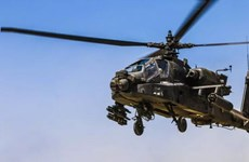 Rơi trực thăng ở Afghanistan, hai quân nhân Mỹ thiệt mạng