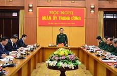 Thường vụ Quân ủy Trung ương kiểm điểm công tác lãnh đạo năm 2019