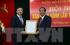 Công bố quyết định của Ban Bí thư về công tác cán bộ tỉnh Hải Dương