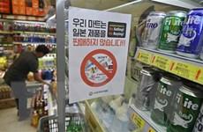 Kinh tế Nhật thiệt hại vì chiến dịch tẩy chay hàng Nhật của người Hàn