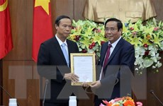 Chuẩn y ông Nguyễn Văn Thọ giữ chức Phó Bí thư Tỉnh ủy Bà Rịa-Vũng Tàu