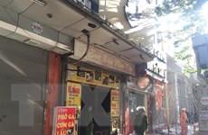 Hà Nội: Dập tắt hoàn toàn vụ cháy tại quán ăn trên phố Hoàng Cầu