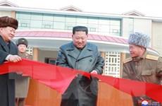 Nhà lãnh đạo Triều Tiên dự lễ khánh thành khu du lịch trọng điểm