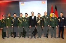 Kỷ niệm 75 năm ngày thành lập Quân đội Nhân dân Việt Nam tại Đức