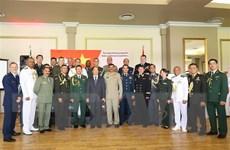 Kỷ niệm 75 năm ngày thành lập Quân đội Nhân dân Việt Nam tại Nam Phi