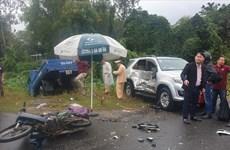 Quảng Nam: Tai nạn giao thông làm 1 người chết, 2 người bị thương