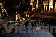 Bình Phước: Xe máy đấu đầu, 1 người chết, 2 người bị thương nặng