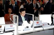 Việt Nam nêu đề xuất ASEM tiếp tục vai trò thúc đẩy hợp tác đa phương