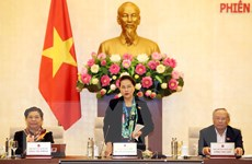 Khai mạc Phiên họp thứ 40 Ủy ban Thường vụ Quốc hội