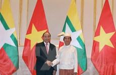 Toàn văn Tuyên bố chung về củng cố quan hệ Việt Nam-Myanmar