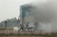 Việt Nam-Campuchia tổ chức diễn tập cứu hộ, cứu nạn