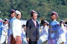 Việt Nam-Myanmar tiếp tục đẩy mạnh quan hệ phát triển lên tầm cao mới
