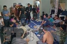 Đắk Lắk: Triệt xóa sòng bạc quy mô lớn, bắt giữ 44 đối tượng