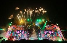 Mỹ Tâm diễn 'cực sung' tại công viên thể thao lớn nhất Đông Nam Á