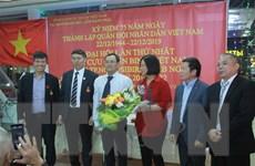 Hội Cựu chiến binh tại Novosibirsk góp phần thúc đẩy quan hệ Việt-Nga