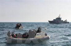 Số người di cư được cứu trên eo biển Manche tăng mạnh trong năm 2019