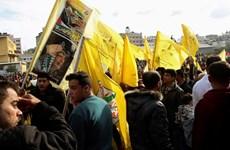 Hamas cho phép tổ chức kỷ niệm ngày thành lập Fatah tại Dải Gaza