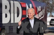 Ông Joe Biden tiếp tục dẫn đầu danh sách ứng cử viên đảng Dân chủ