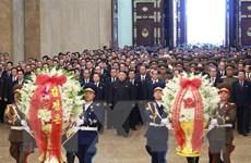 Nhà lãnh đạo Triều Tiên viếng Cung Thái Dương nhân dịp Năm Mới