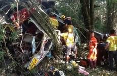 Tai nạn ở biên giới Myanmar-Thái Lan, gần 50 người thương vong