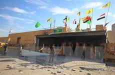 Nổ lớn nghi tấn công tên lửa vào Đại sứ quán Mỹ ở Baghdad