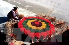 [Photo] Huế: Làng hương Thủy Xuân rộn ràng mùa Tết