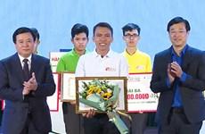 Thí sinh Tiền Giang giành giải Đặc biệt Cuộc thi tìm hiểu về Đảng