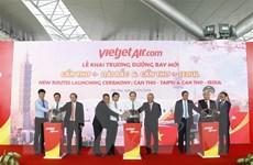 Thêm hai đường bay mới từ Cần Thơ đi Đài Loan và Hàn Quốc